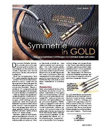 Symmetrie in Gold