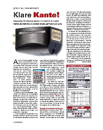 Klare Kante!