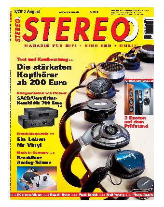 Stereo 8/2012