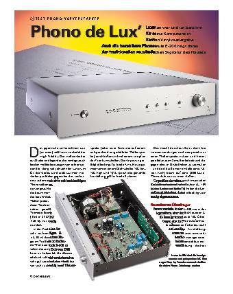 Phono de Lux'