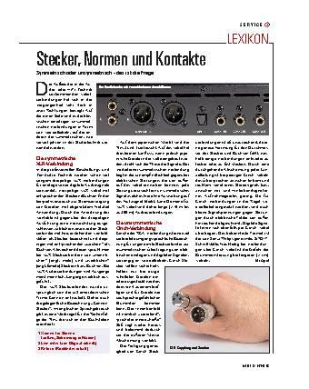 Audio und Adapter
