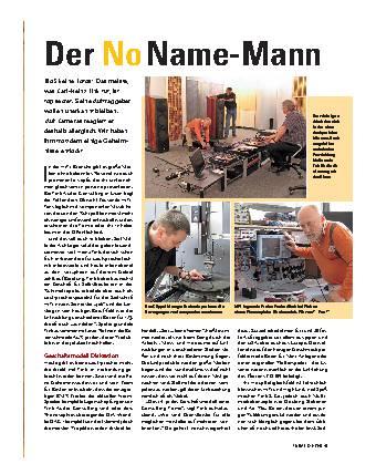 Der No Name-Mann