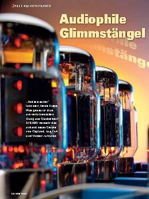 Audiophile Glimmstängel