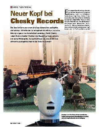 Neuer Kopf bei Chesky Records