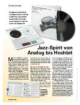 Jazz-Spirit von Analog bis Hochbit