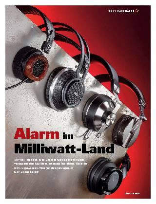 Alarm im Milliwatt-Land
