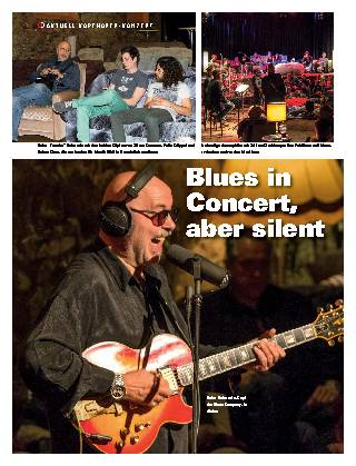 Blues in Concert, aber silent