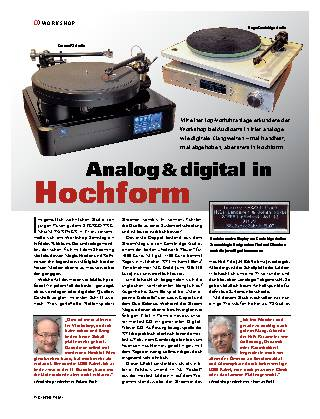 Analog & digital in Hochform