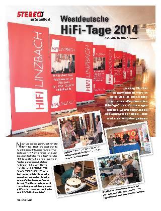 Westdeutsche HiFi-Tage 2014