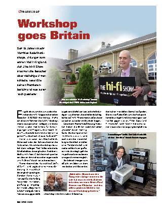 Workshop goes Britain