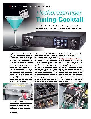 Hochprozentiger Tuning-Cocktail