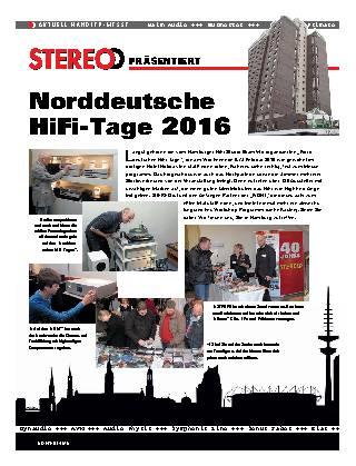 Norddeutsche HiFi-Tage 2016
