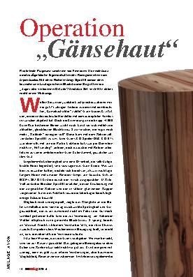 """Operation """"Gänsehaut"""""""