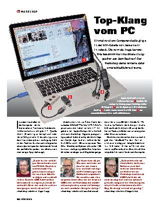 Top-Klang vom PC