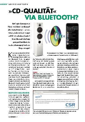 »CD-Qualität« via Bluetooth?