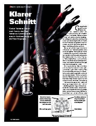 Klarer Schnitt