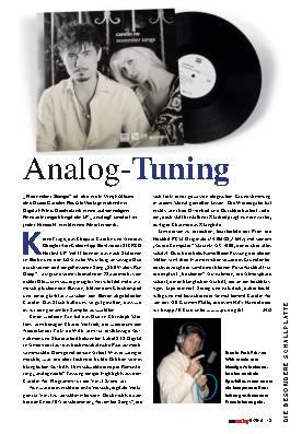 Analog-Tuning