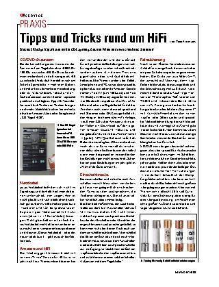 Tipps und Tricks rund um HiFi
