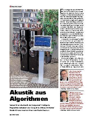Akustik aus Algorithmen