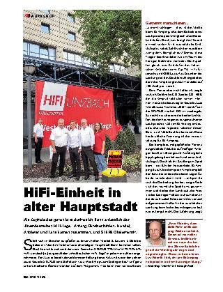 HiFi-Einheit in alter Hauptstadt