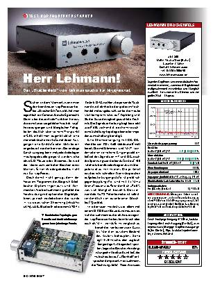 Herr Lehmann!