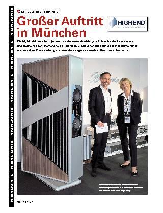 Großer Auftritt  in München
