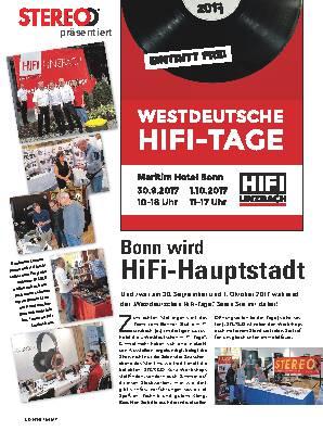 Bonn wird HiFi-Hauptstadt