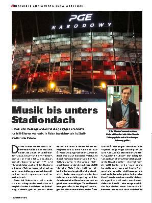 Musik bis unters Stadiondach
