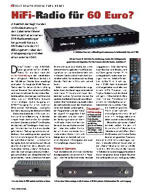 HiFi-Radio für 60 Euro?