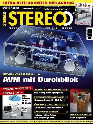 Stereo 8/2018