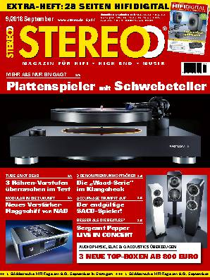 Umschlag STEREO 0918