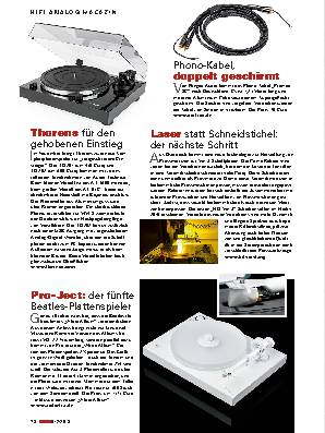 Hifi analog Magazin