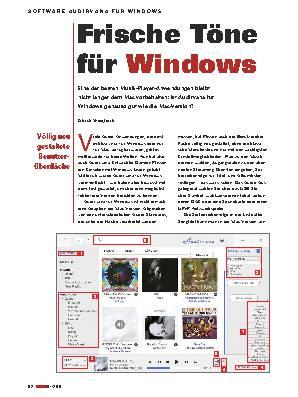 Frische Töne für Windows