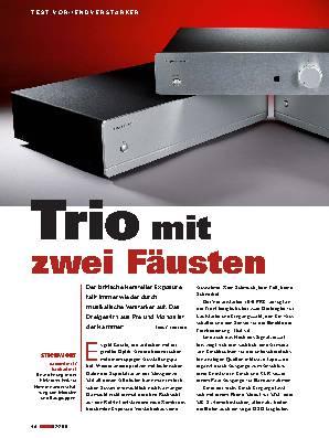 Trio mit zwei Fäusten
