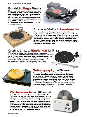 Hifi-analog Magazin