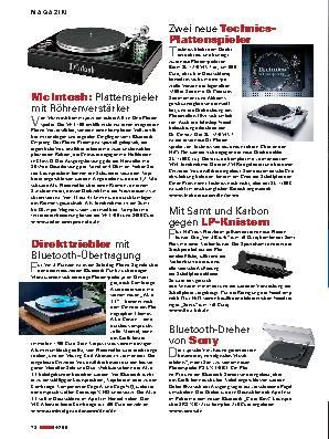 Hifi-analog Magazin