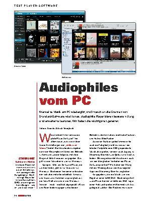 Audiophiles vom PC