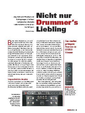 Nicht nur Drummer's Liebling