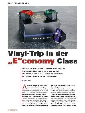 """Vinyl-Trip in der ,,E""""conomy Class"""