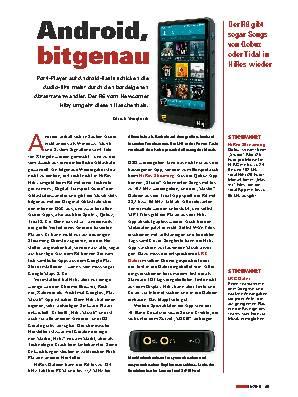 Android, bitgenau