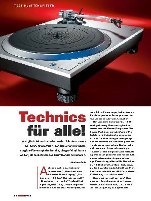 Technics für alle!