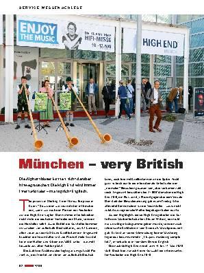 München very British