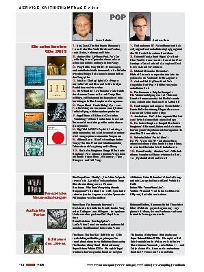 Die zehn besten CDs 2019