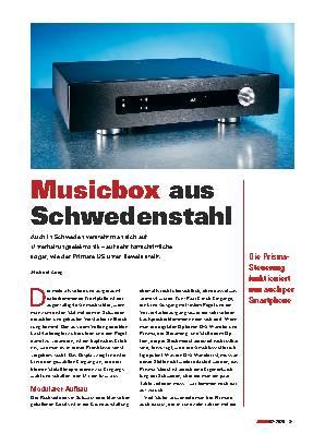 Musicbox aus Schwedenstahl