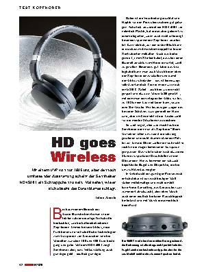 HD goes Wireless