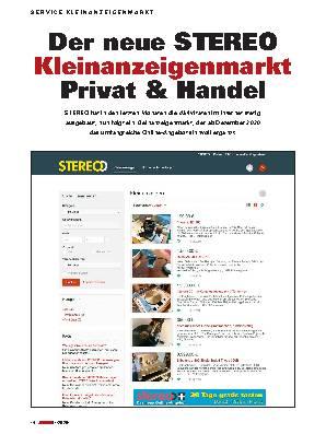 Der neue STEREO  Kleinanzeigenmarkt  Privat & Handel