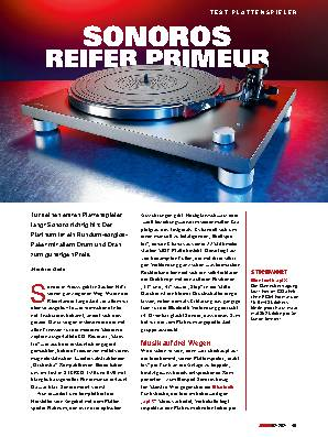 SONOROS REIFER PRIMEUR