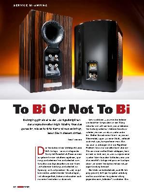 To Bi Or Not To Bi