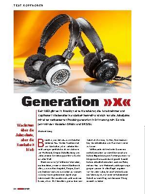 Generation »x«