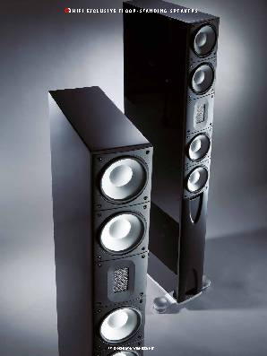 Stick-thin speakers, matchless sound